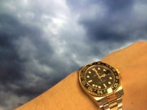 Don't use your watch as a compass when it's cloudy.
