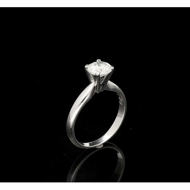 1.00ct Diamond Engagement Ring in 18ct White Gold