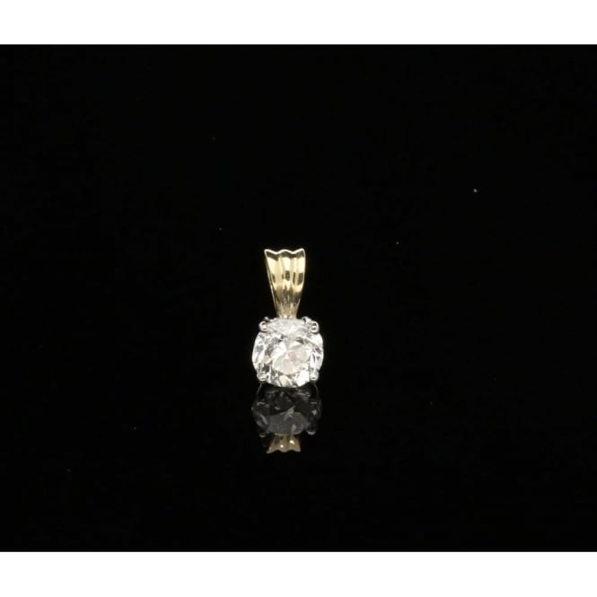 Miltons Diamonds 1.10ct Old Brilliant Cut Diamond Pendant