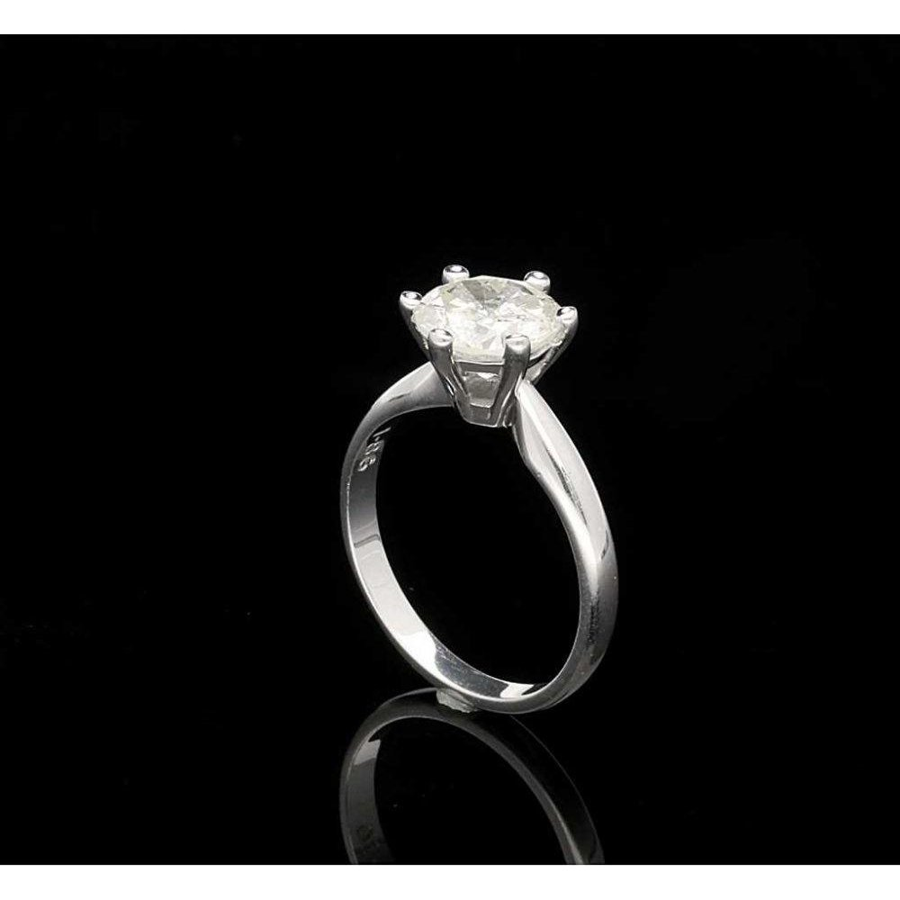 1 86ct Diamond Engagement Ring 18ct White Gold Second Hand