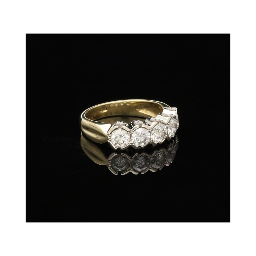 Second Hand  Stone Diamond Ring Jewellery