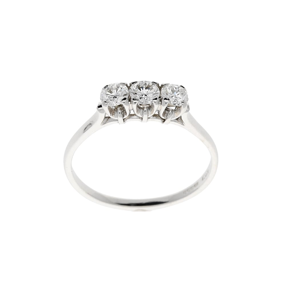 i rings round ct brilliant diamond platinum in twt certified engagement ring h stone d