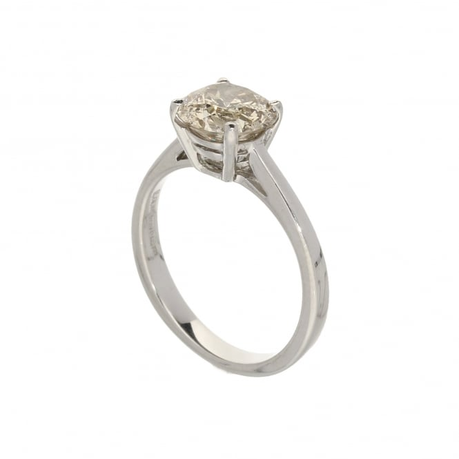 Miltons Diamonds 18ct White Gold Champagne Diamond Ring - 1.62ct