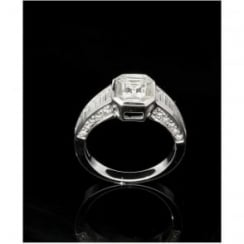 18ct White Gold Diamond Solitaire 1.80ct