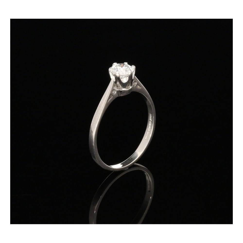 Secondhand 18ct White Gold Engagement Ring 050ct