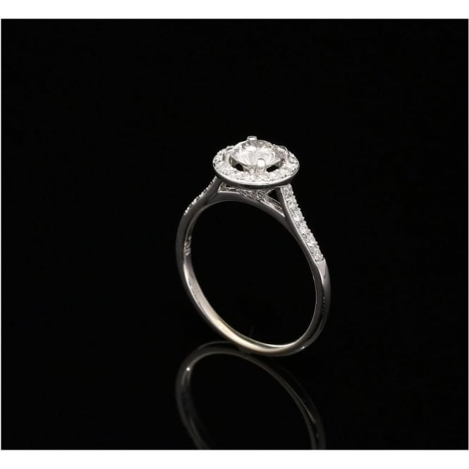 Miltons Diamonds 18ct White Gold Fancy Diamond Engagement Ring - 0.90ct