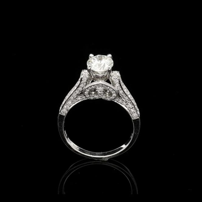 Miltons Diamonds 18ct White Gold Fancy Diamond Engagement Ring 1.00ct