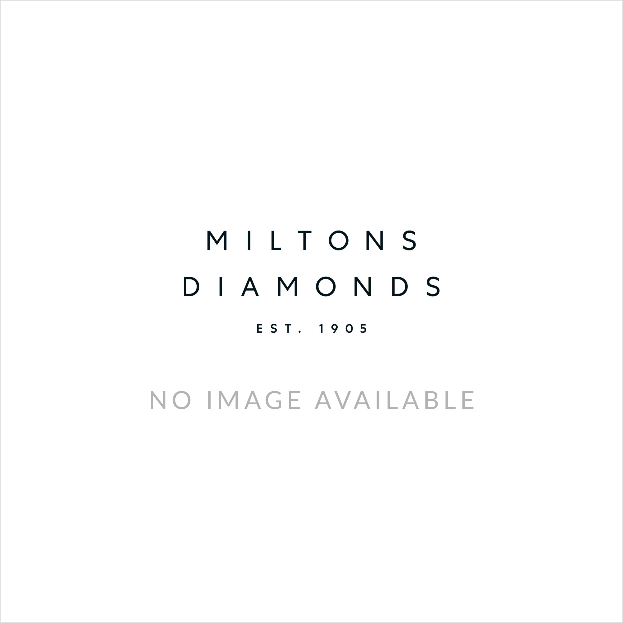 18ct White Gold Wave Cluster Ring
