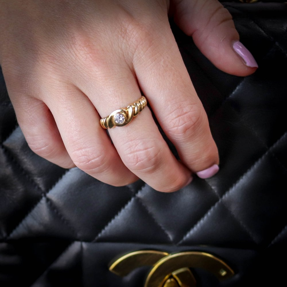 18ct Yellow Gold 0.31ct Diamond Engagement Ring | Miltons Diamonds