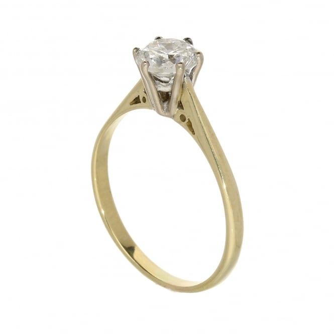 Miltons Diamonds 18ct Yellow Gold Diamond Engagement Ring - 1.24ct