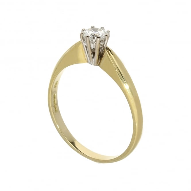 Miltons Diamonds 18ct Yellow Gold Engagement Ring - 0.33ct