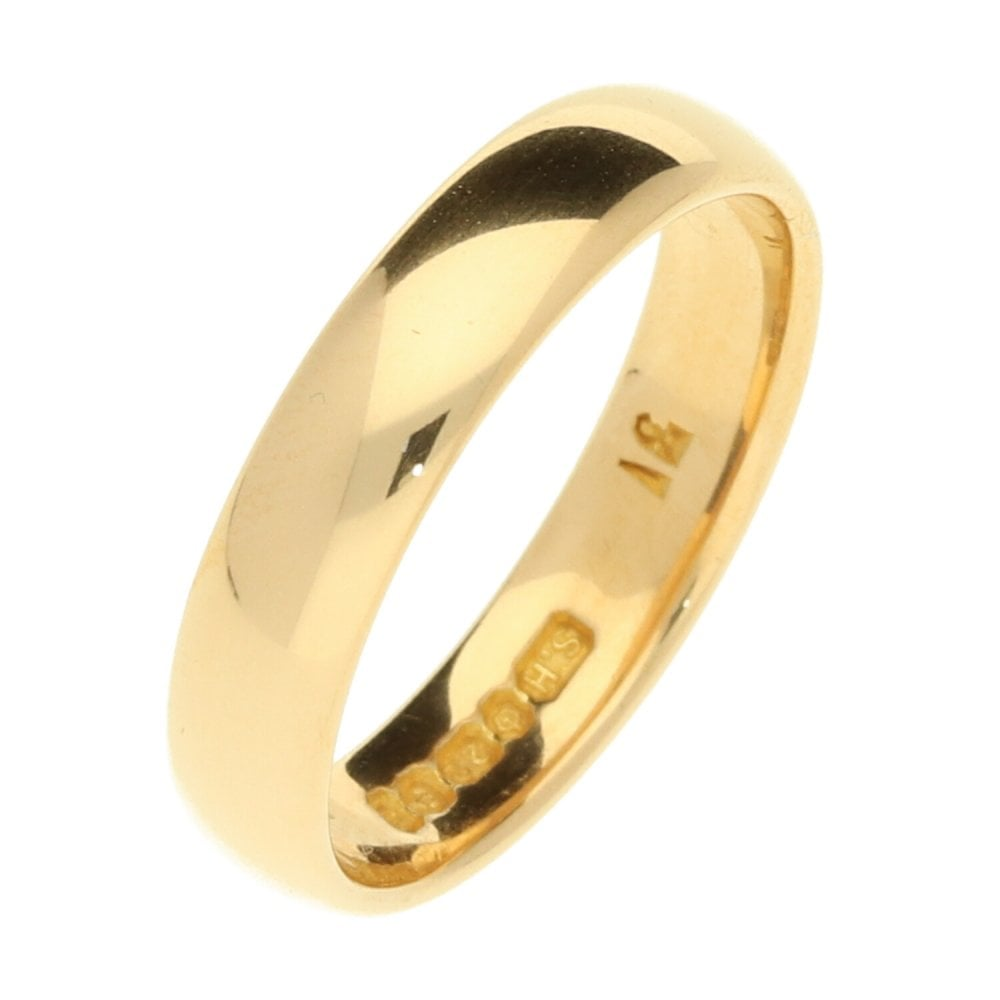 22ct Yellow Gold Wedding Ring Ramsdens Jewellery
