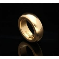 22ct Yellow Gold D Shape 6mm Wedding Ring 22.80g