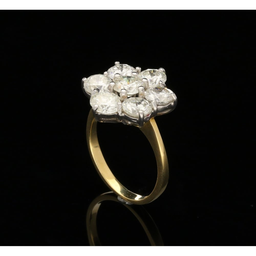 gold ring rings product pre heart owned diamond wedding yellow shaped karat