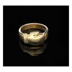9ct Boxing Glove Ring - Men's - 9.10 grams