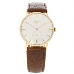 9ct Gold Gents Watch - Circa 1959