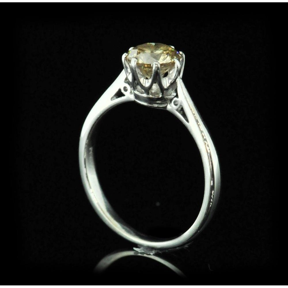 oiafkgh diamond owned cut wedding elegant pre rings pear engagement valued at promise ring preowned