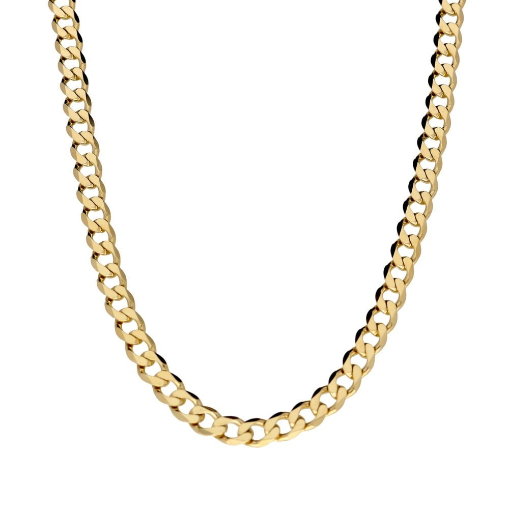 798603f7e9b60 Miltons Diamonds 9ct Yellow Gold 22 inch Curb Chain - 37.1 grams