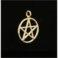 9ct Yellow Gold Small 5 Pointed Star Pendant