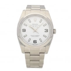 Air King 114200 - Gents Watch - White Dial - 2012