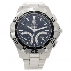 Aquaracer CAF7010 Mens Watch - Black Dial Chronograph