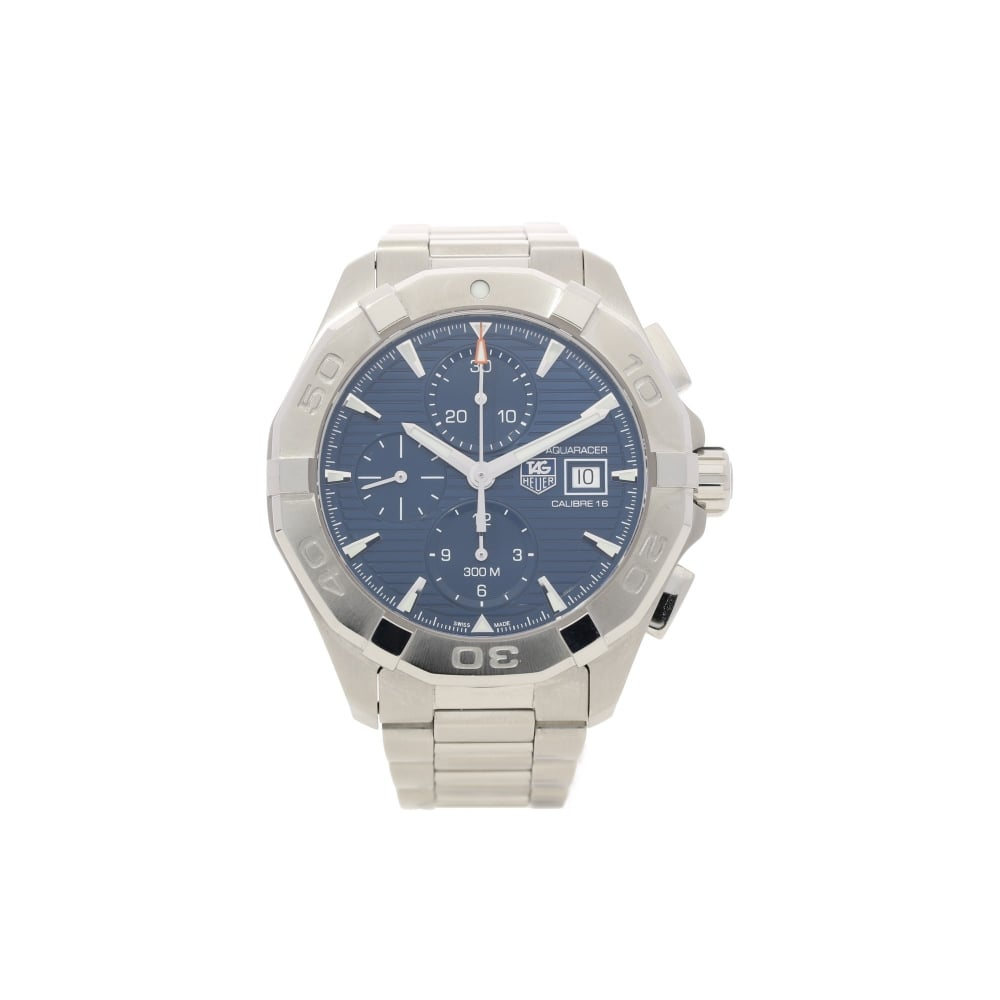purchase cheap 23f73 8e2df Tag Heuer Aquaracer CAY2112 - Gents Watch - Blue Dial - Approx 2013