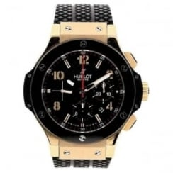 Big Bang 301.PB.131.RX - Black Rubber Strap - 18ct Rose Gold