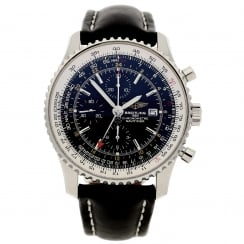 Breitling Old Navitimer A24322 - Secondhand - Black Dial - 2013