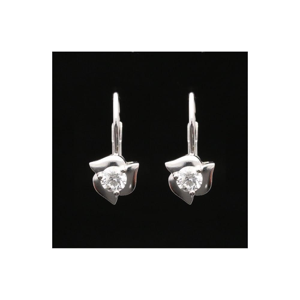 3cda4a23d9a42 Miltons Diamonds Cartier Platinum 0.75ct Diamond Earrings