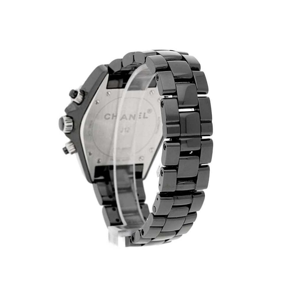 black flange jewelry crop chanel ca with and set xs en steel diamonds watch grey ceramic watches p default