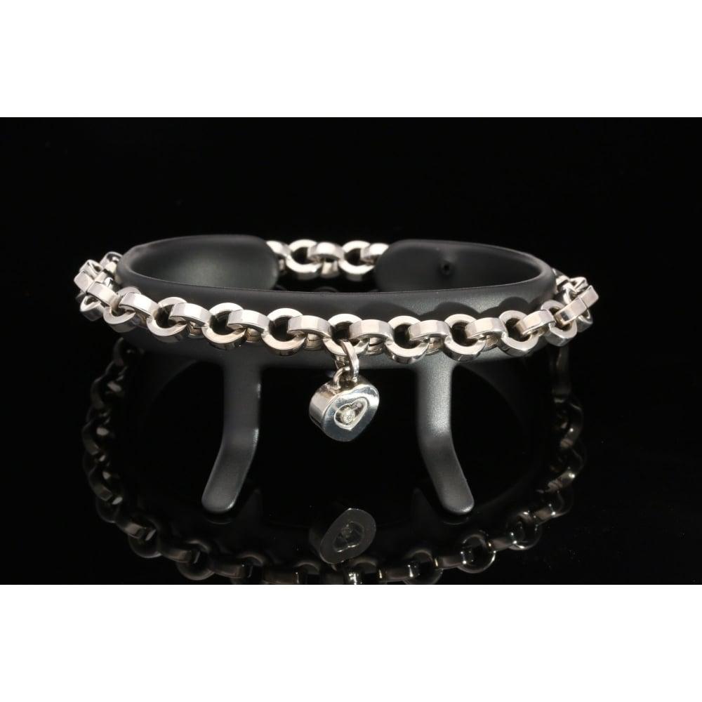 Chopard 18ct White Gold Diamond Bracelet