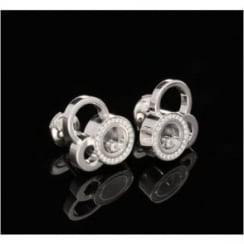 Chopard Diamond Earrings 18ct White Gold