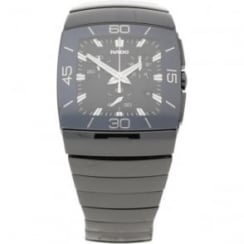 Chronograph Watch - Mens - Black Ceramic