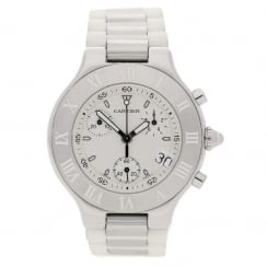 Chronoscaph 21 - 2424 - White Dial and Bracelet