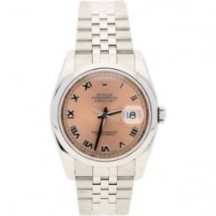 Datejust 116200, Gents Second Hand Watch, Roman Dial, 2008