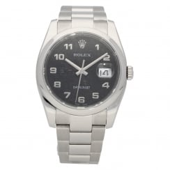 Datejust 116200 - Gents Watch - Black Jubilee Dial - 2008