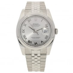 Datejust 116200 - Gents Watch - Silver Dial - 2017