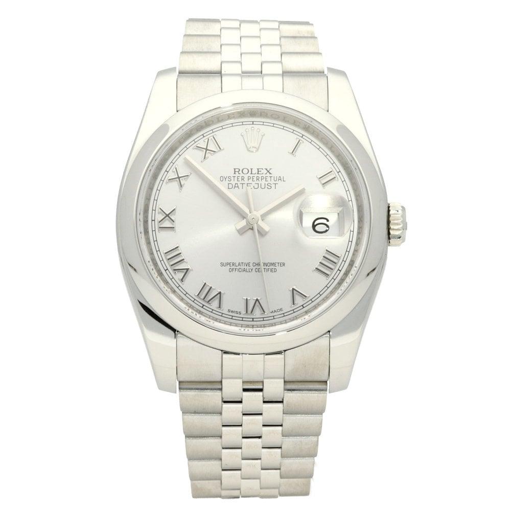 36e2824074803 Rolex Datejust 116200 - Gents Watch - Silver Dial - 2017 | Miltons ...