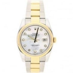 Datejust 116203 Watch, Mother Of Pearl Dial, 2005