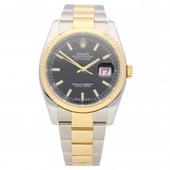 Datejust 116233 - Gents Watch - Black Dial - 2014