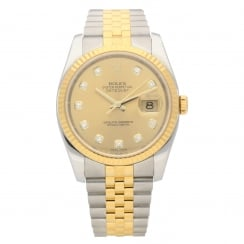 Datejust 116233 - Gents Watch - Diamond Dial - 2013
