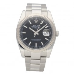 Datejust 116234 - Gents Watch - Black Dial - 2009
