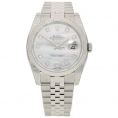 Datejust 116234 - Gents Watch - Diamond Dial - 2018 Unworn