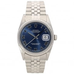 Datejust 16220 - Gents Watch - Blue Dial - 2001