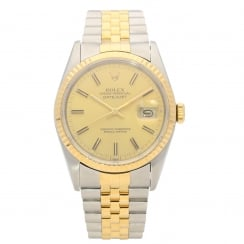 Datejust 16233 - Champagne Dial - 1990