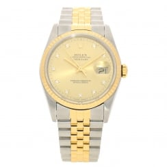 Datejust 16233 - Champagne Diamond Dial - 1988