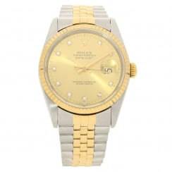 Datejust 16233 - Champagne Diamond Dial - 1991