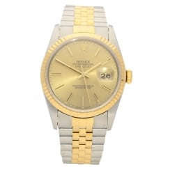 Datejust 16233 - Gents Watch - Baton Dial - 1994