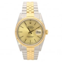 Datejust 16233 – Gents Watch – Champagne Dial - 1989