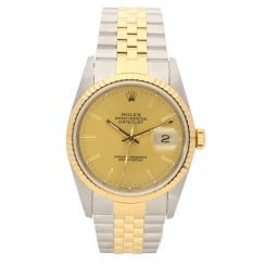 Datejust 16233 - Gents Watch - Champagne Dial -1991